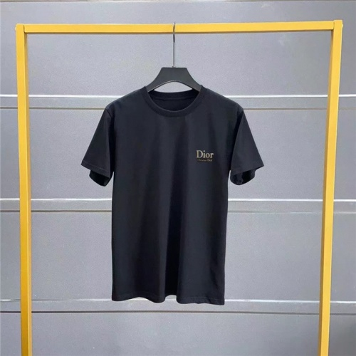 Christian Dior T-Shirts Short Sleeved O-Neck For Men #769803