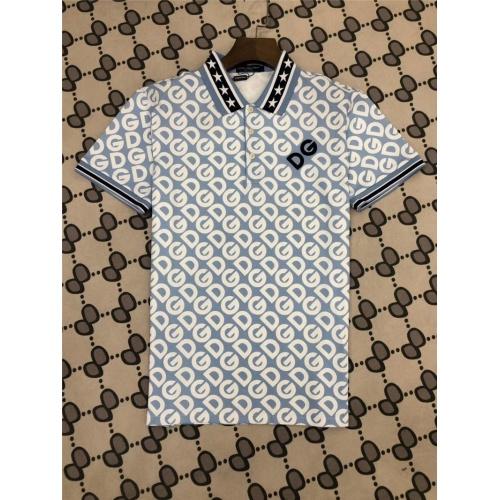 Dolce & Gabbana D&G T-Shirts Short Sleeved Polo For Men #770029