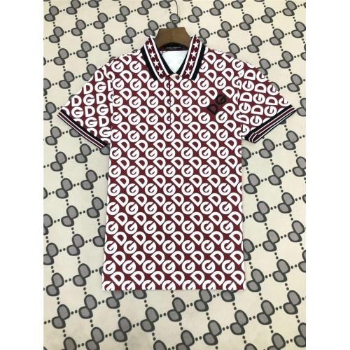 Dolce & Gabbana D&G T-Shirts Short Sleeved Polo For Men #770030