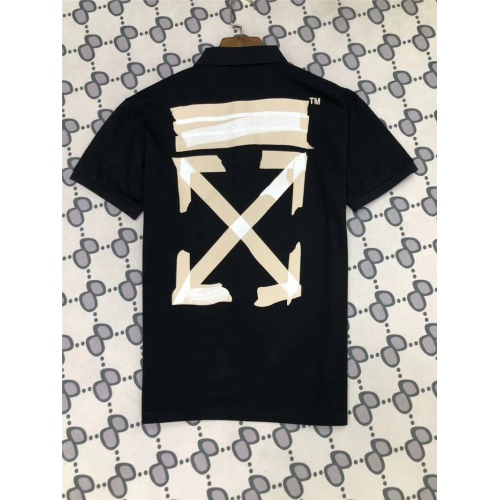 Off-White T-Shirts Short Sleeved Polo For Men #770033