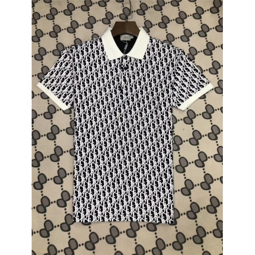 Christian Dior T-Shirts Short Sleeved Polo For Men #770039