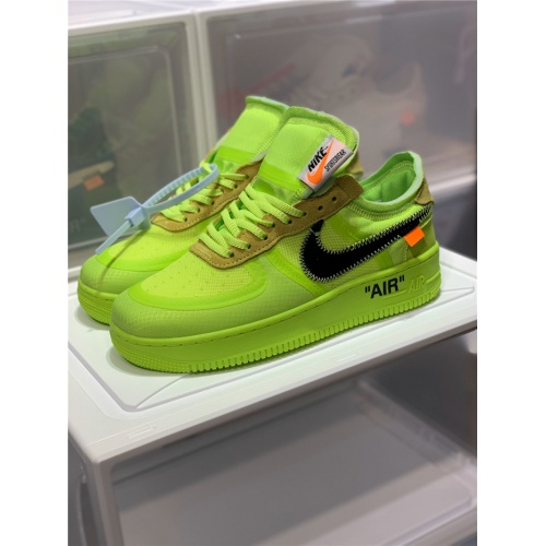 Nike Air Force 1 & OFF-WHITE For Men #770101