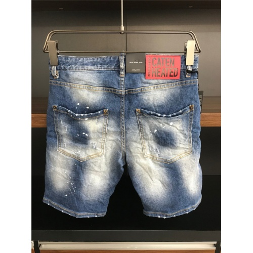 Replica Dsquared Jeans Shorts For Men #770316 $50.44 USD for Wholesale