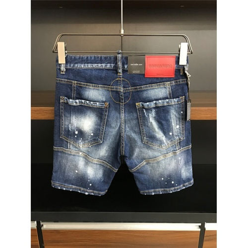 Replica Dsquared Jeans Shorts For Men #770317 $50.44 USD for Wholesale