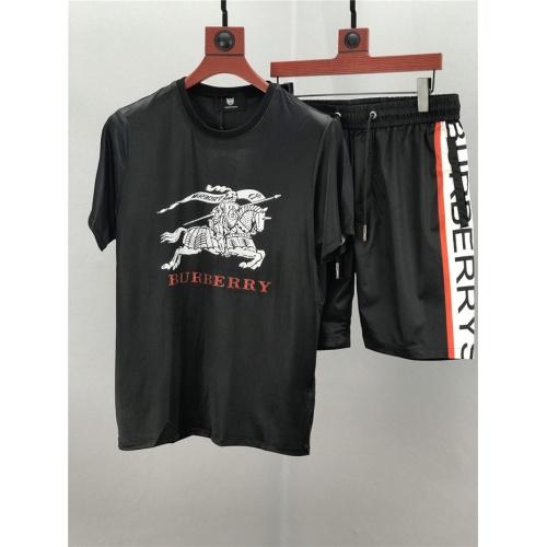 Burberry Tracksuits Short Sleeved O-Neck For Men #770358