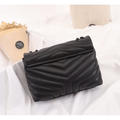 Replica Yves Saint Laurent YSL AAA Quality Shoulder Bags For Women #770383 $86.33 USD for Wholesale