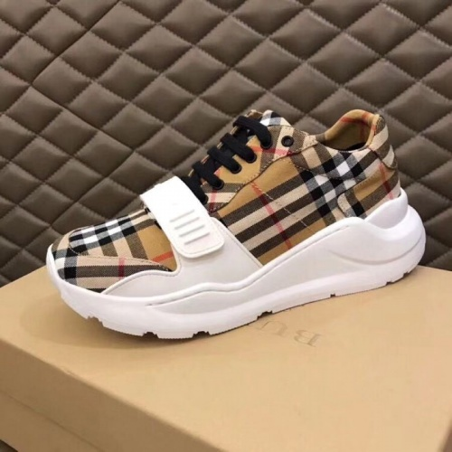 Replica Burberry Casual Shoes For Men #770447 $77.60 USD for Wholesale