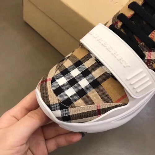 Replica Burberry Casual Shoes For Women #770448 $77.60 USD for Wholesale