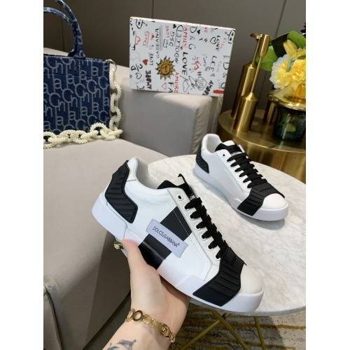 Replica Dolce & Gabbana D&G Casual Shoes For Women #770452 $79.54 USD for Wholesale