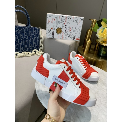 Replica Dolce & Gabbana D&G Casual Shoes For Women #770453 $79.54 USD for Wholesale