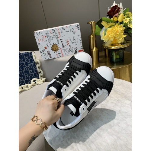 Replica Dolce & Gabbana D&G Casual Shoes For Men #770455 $79.54 USD for Wholesale