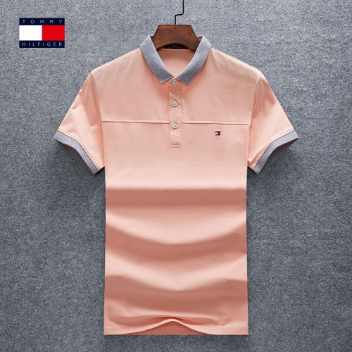 Thom Browne TB T-Shirts Short Sleeved Polo For Men #770622