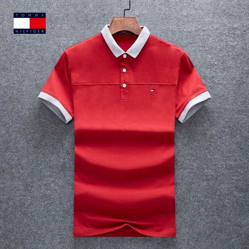 Thom Browne TB T-Shirts Short Sleeved Polo For Men #770623