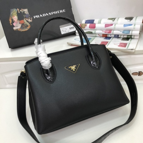 Prada AAA Quality Handbags For Women #770682 $102.82, Wholesale Replica Prada AAA Quality Handbags