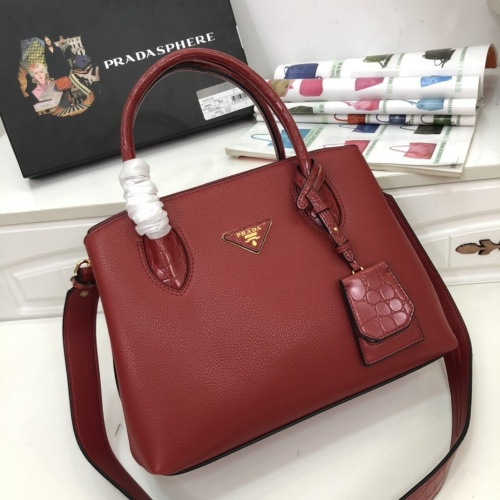 Prada AAA Quality Handbags For Women #770684 $102.82, Wholesale Replica Prada AAA Quality Handbags