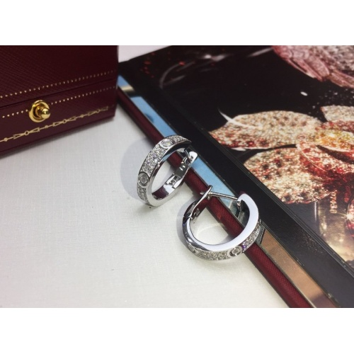 Cartier Earring #770743 $31.04 USD, Wholesale Replica Cartier Earring