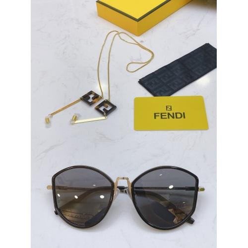 Fendi AAA Quality Sunglasses #770906