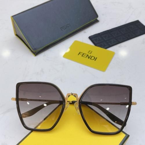 Fendi AAA Quality Sunglasses #770913