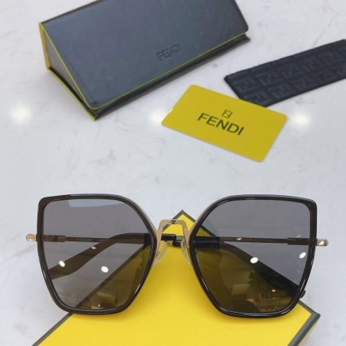 Fendi AAA Quality Sunglasses #770914