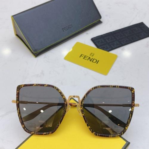Fendi AAA Quality Sunglasses #770915
