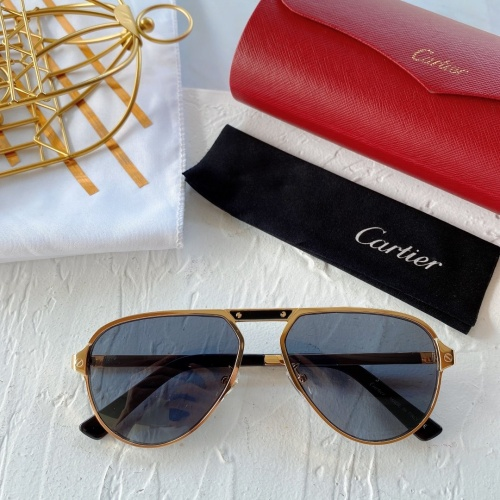 Cartier AAA Quality Sunglasses #771014