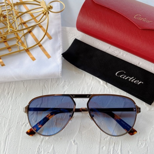 Cartier AAA Quality Sunglasses #771015