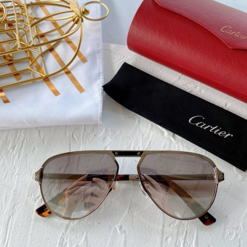 Cartier AAA Quality Sunglasses #771016