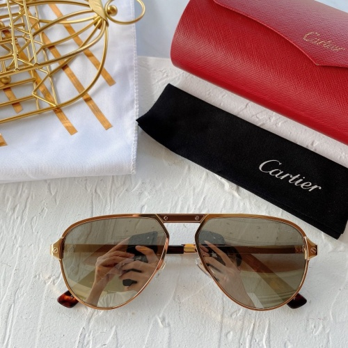 Cartier AAA Quality Sunglasses #771017