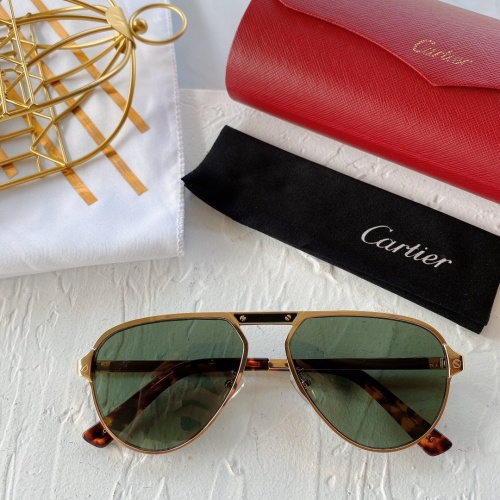 Cartier AAA Quality Sunglasses #771021