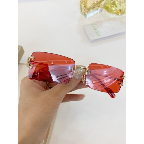 Cartier AAA Quality Sunglasses #771050