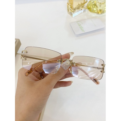Cartier AAA Quality Sunglasses #771051