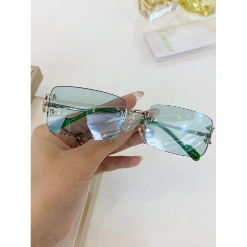 Cartier AAA Quality Sunglasses #771052