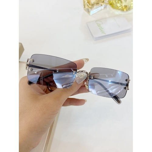 Cartier AAA Quality Sunglasses #771053 $47.53, Wholesale Replica Cartier Super AAA Sunglasses