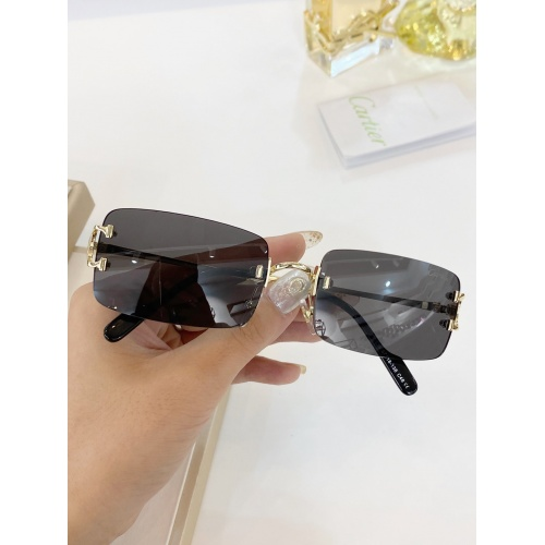 Cartier AAA Quality Sunglasses #771054