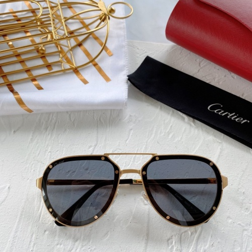 Cartier AAA Quality Sunglasses #771058