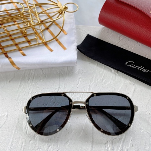 Cartier AAA Quality Sunglasses #771060
