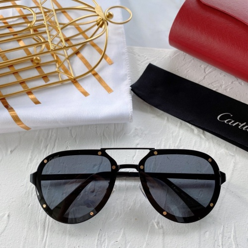 Cartier AAA Quality Sunglasses #771061