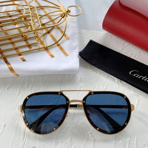 Cartier AAA Quality Sunglasses #771062