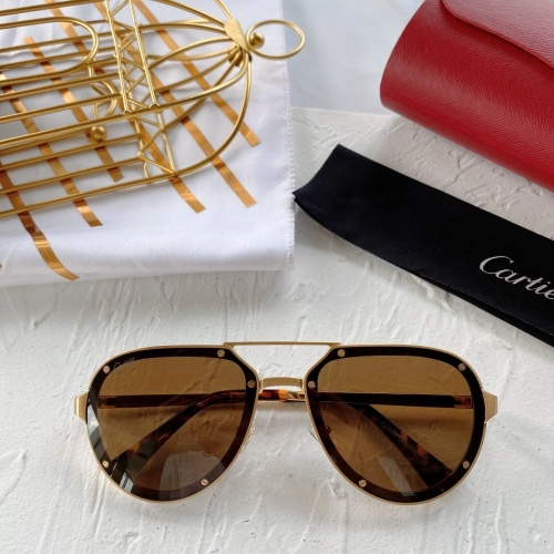 Cartier AAA Quality Sunglasses #771065