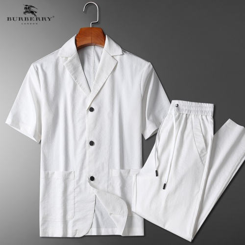 Burberry Tracksuits Short Sleeved Polo For Men #771378