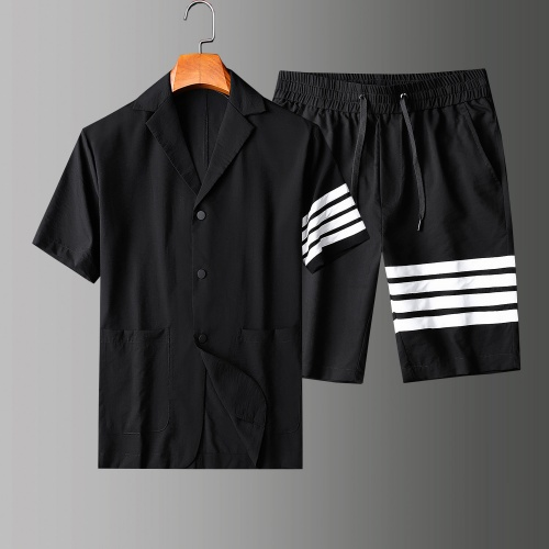 Thom Browne TB Tracksuits Short Sleeved Polo For Men #771393