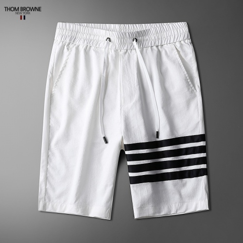 Replica Thom Browne TB Tracksuits Short Sleeved Polo For Men #771395 $77.60 USD for Wholesale