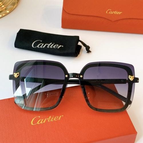 Cartier AAA Quality Sunglasses #771556