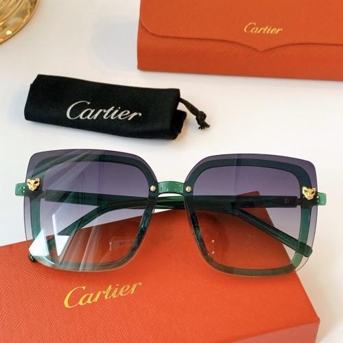 Cartier AAA Quality Sunglasses #771557