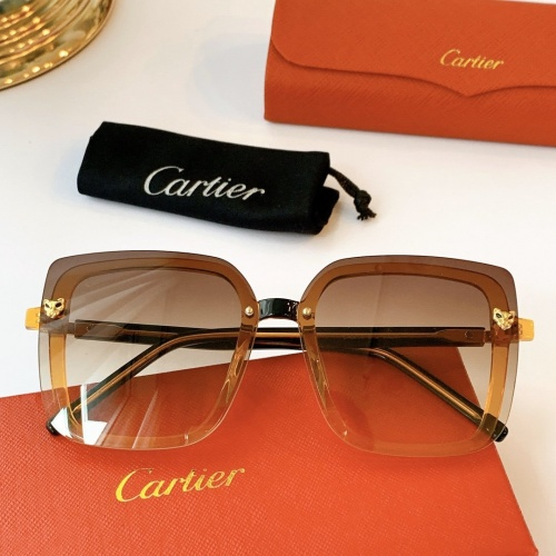 Cartier AAA Quality Sunglasses #771558
