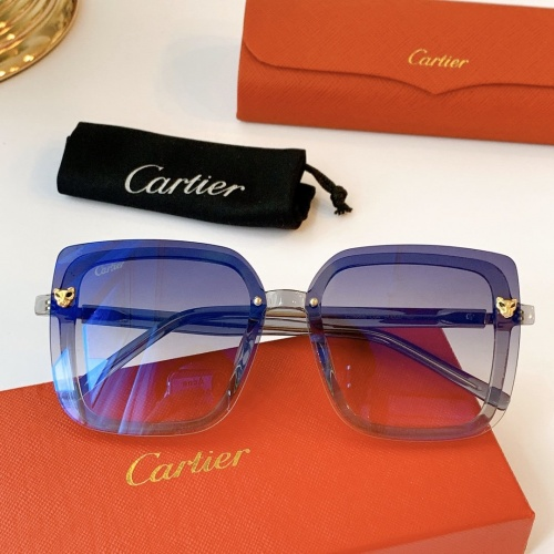 Cartier AAA Quality Sunglasses #771560