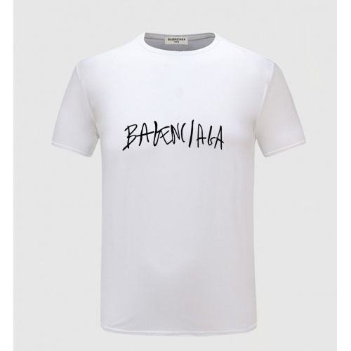 Balenciaga T-Shirts Short Sleeved O-Neck For Men #771629