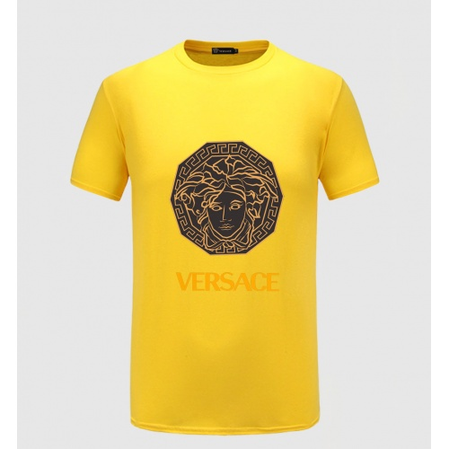 Versace T-Shirts Short Sleeved O-Neck For Men #771762 $26.19, Wholesale Replica Versace T-Shirts