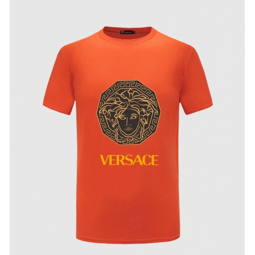 Versace T-Shirts Short Sleeved O-Neck For Men #771765 $26.19, Wholesale Replica Versace T-Shirts