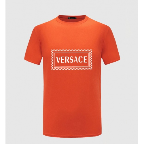 Versace T-Shirts Short Sleeved O-Neck For Men #771785 $26.19, Wholesale Replica Versace T-Shirts